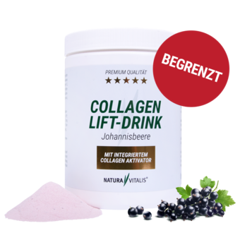 Collagen-Lift-Drink mit L-Lysin - Johannisbeere